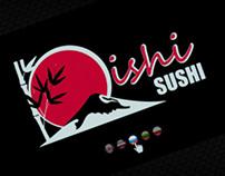 Sushi shop webpage