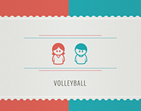 Volleyball Infographic