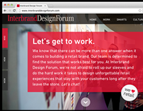 Interbrand Design Forum Website