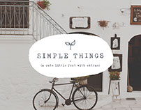 Simple Things : Font