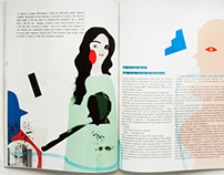 illustrations for Pointer MAG