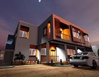 Agbelenkpe Apartments -Accra ,Ghana .  8 units in each