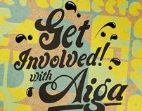 "AIGA ""Get Inspired"" Print"