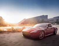 Aston Martin V12 Vantage - Scale Model 1: 24