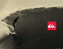 QUIKSILVER BOARDSHORTS AD CAMPAIGN