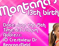 Montana's 13th birthday