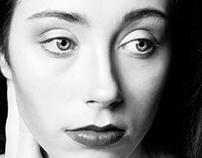 Model Test : Kirstin Gribbin