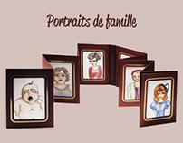 Portraits de famille