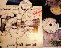 Macc & dgoHn artwork for Rephlex records & Subtle Audio