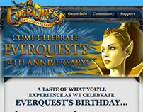 EverQuest: 14th Anniversary email campaign