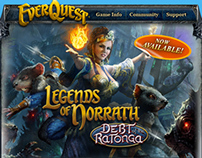 Legends of Norrath: Debt of the Ratonga email campaign