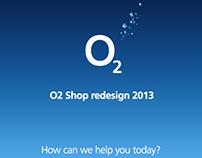 O2 Shop Redesign 2013