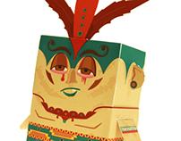 Acalan the Aztac - Boxpunk