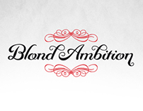 Blond Ambition | Typography