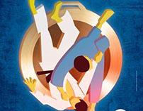 Copa de Judô - Branding e Design de Medalha