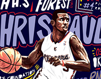Chris Paul Illustration
