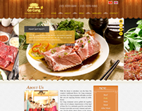 41. Template website GoCung Restaurant