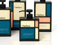 Beehaus Beauty Product Packaging
