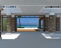 Seaside Resort Villa -- design in progress