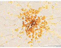 CIAN — Moscow Real Estate Prices Map
