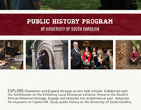 USC Public History Program Ad