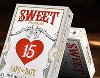 Sweet 15 Birthday Invitation-Quinceanera