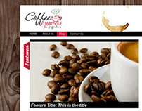 Website Design for a Coffee Vendor