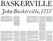 Baskerville: Type Setting