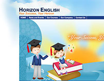 Horizon English Website