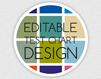 Editable Test Chart Design