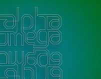 Bible inspired wallpaper series: Alpha and Omega