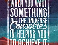 Paulo Coelho Poster