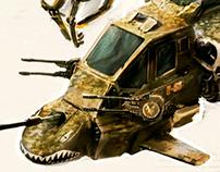 Concept war machine
