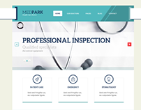 MedPark – Responsive Medical Health WordPress Theme