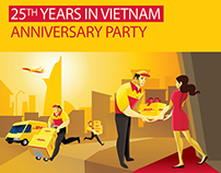 DHL - 25th year in Vietnam