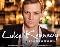 Luke Kennedy 2013 Tour Artwork