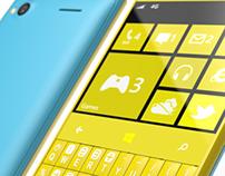 Windows 8 Qwerty Phone Concept