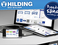 Hilding Build Builder - Web design