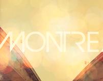 Retro Montreal Poster