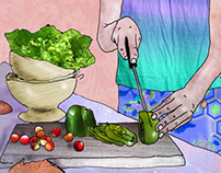 cooking illustration