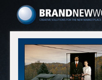 BRAND NEW WORLD - Web design