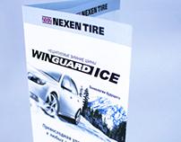 LEAFLET for Nexen tire company