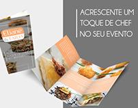 Flyer institucional  Chef Eliane Faria