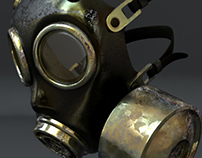 Gas Mask variations in texture