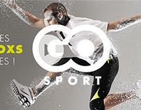 Go Sport - Website