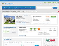 Constellation Energy Customer Account Management Websit