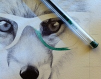 Green Ray-Ban style - Work on commission