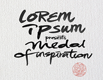 The Lorem Ipsum Store - Medal of inspiration campaign