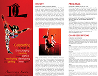 Dance Brochure: Rayn Fall Dance Studio