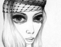 my surrealist woman portraits